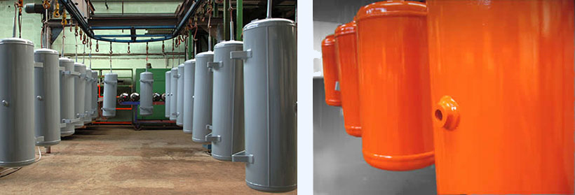 compressed air tank manufacturer in Germany